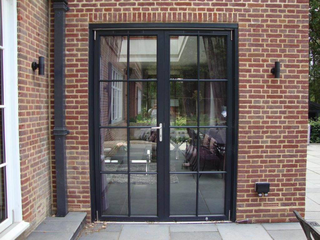 Hardwood french doors exterior gallery door design ideas for Hardwood french doors