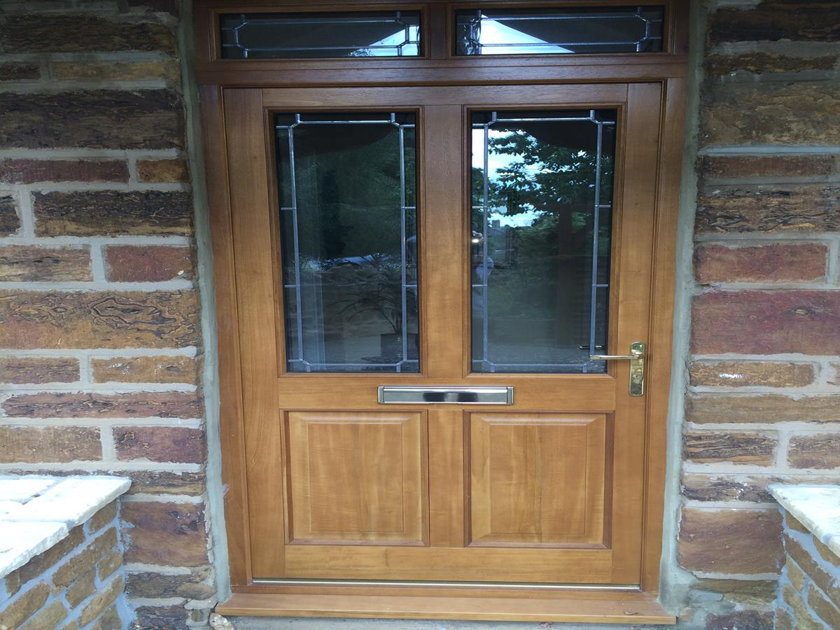 Front doors bespoke hardwood glazed front doors for Hardwood entrance doors