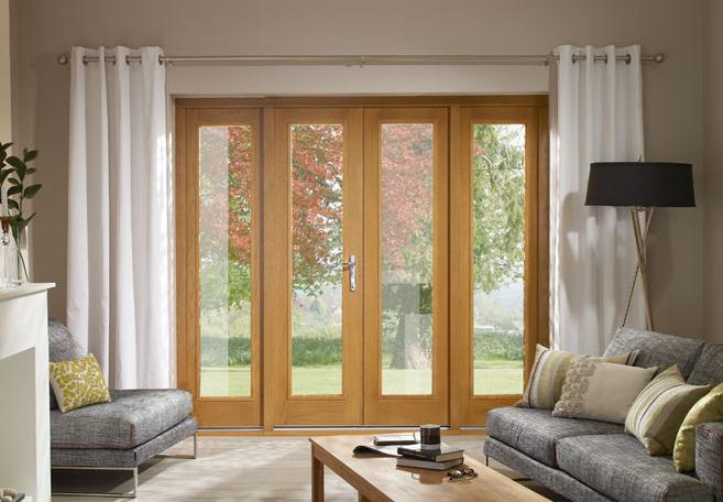Oak french doors for French doors uk
