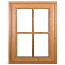 oak-window-white, Timber casement window, Oak