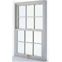 Sliding double glazed window casement