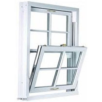 Tilting casement window and replacement window